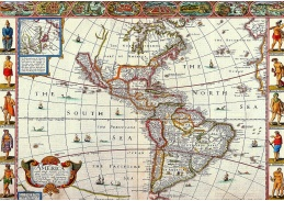 Obraz mapa VM 105