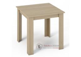 KONGO, jídelní stůl 80x80cm, dub sonoma