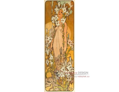 VAM134 Alfons Mucha - Lily