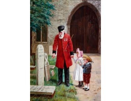 VANG65 Augustus Edwin Mulready - Procházka s dědou