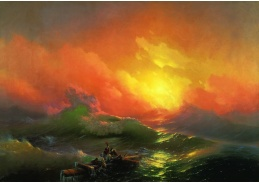 Ivan Konstantinovič Ajvazovskij - Devátá vlna, 60x40cm