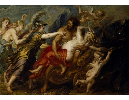 VRU148 Peter Paul Rubens - Únos Proserpiny