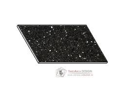 Kuchyňská pracovní deska 20 cm ANDROMEDA černá