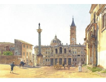 VALT 86 Rudolf von Alt - Bazilika Santa Maria Maggiore v Římě