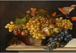 Slavné obrazy X DDSO-1027 Sebastiaen Wegmayr - Zátiší s ovocem