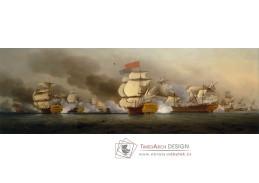 D-6420 Samuel Scott - Viceadmirál George Anson po svém vítězství u mysu Finisterre