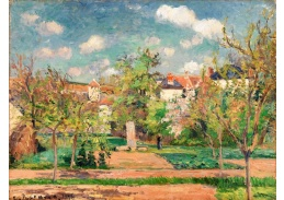 D-8114 Camille Pissarro - Zahrada v plném slunci