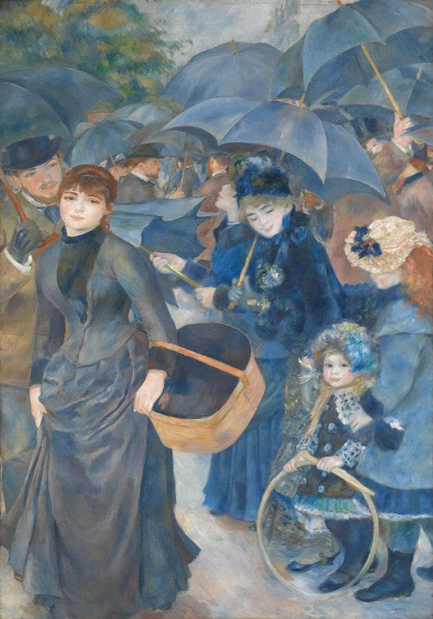 R14-104 Pierre-Auguste Renoir - Deštníky