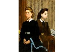 VR6-63 Edgar Degas - Giovanna a Giuliana Bellelli