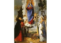 SO IV-18 Lorenzo Lotto - Nanebevzetí Panny Marie