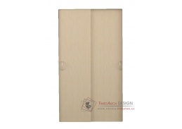 GRETA, posuvné dveře ke skříni, dub belfort - 2ks