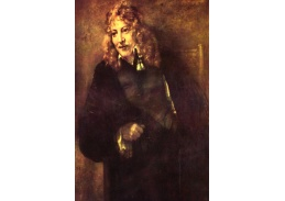 R4-103 Rembrandt - Portrét Nikolausa Bruyningha
