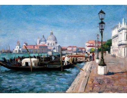 Slavné obrazy XVI-440 Dario Villares Barbosa - Benátky