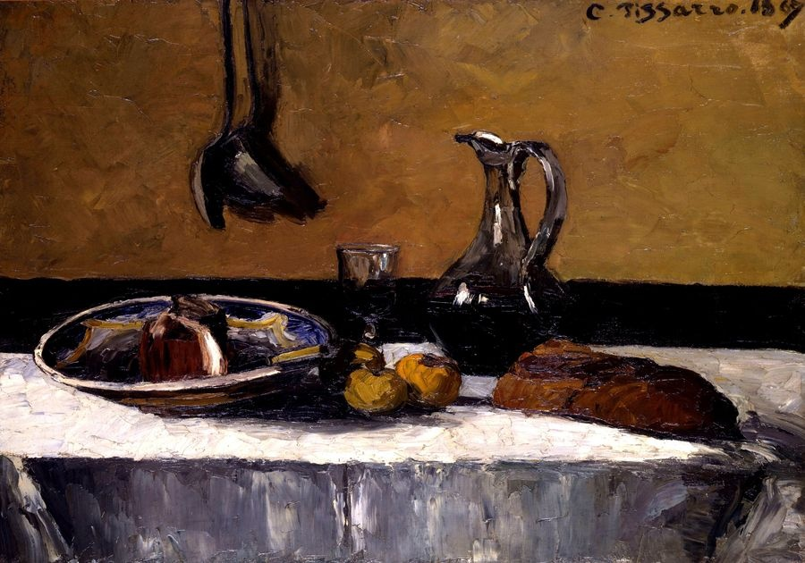Obraz VCP-467 Camille Pissarro - Zátiší