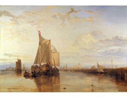 Joseph Mallord William Turner - Lodě v přístavu Dordrecht