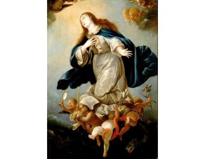 Krásné obrazy II-409 Mateo Cerezo - Neposkvrněná Marie