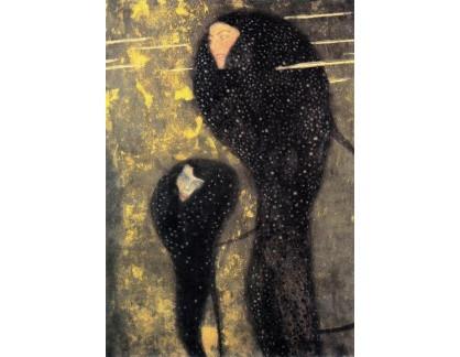 VR3-7-2 Gustav Klimt - Mořské panny