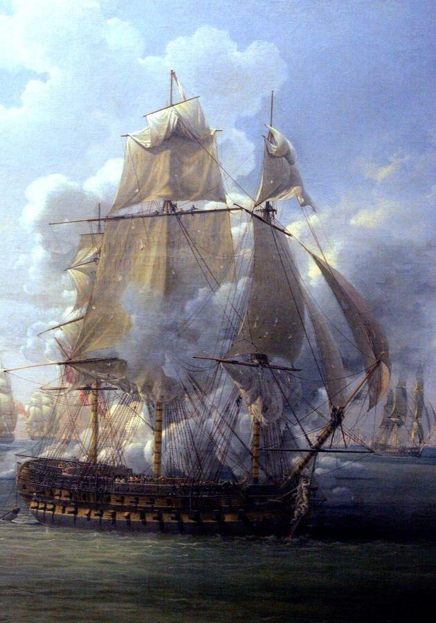 VL102 Louis-Philippe Crepin - Bitva o Poursuivante proti britské lodi Hercules, 28. června 1803