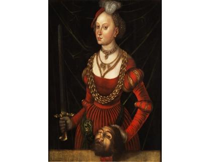 KO II-347 Lucas Cranach - Judita s hlavou Holoferna