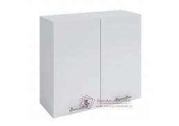 FABIANA, horní skříňka 2-dveřová W-80, bílá