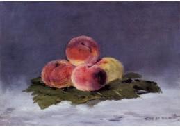 VEM 01 Édouard Manet - Zátiší s broskvemi