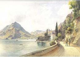 VALT 101 Rudolf von Alt - Varenna u jezera Como