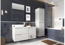 NARAN, koupelnová sestava nábytku, bílá