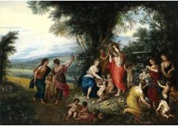 BRG-124 Jan Brueghel a Hendrik van Balen - Alegorie léta