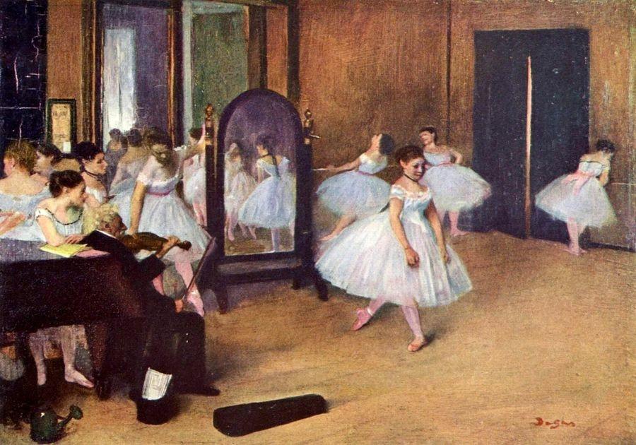 VR6-4 Edgar Degas - Tanečnice