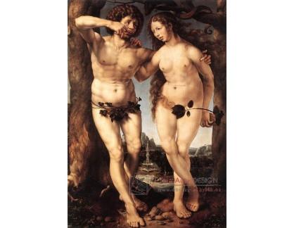 VH716 Jan Gossaert - Adam a Eva
