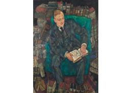D-7811 Egon Schiele - Portrét Hugo Kollera