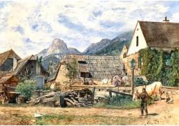 D-9692 Rudolf von Alt - Pozdní léto v Liezenu