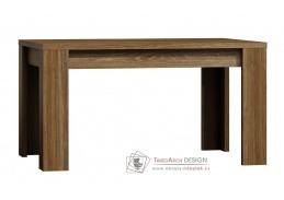 Jídelní stůl rozkládací 160-200x90 cm PARIS dub stirling