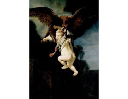 VR4-57 Rembrandt van Rijn - Únos Ganymede