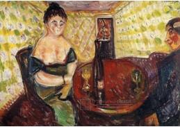 VEM13-05 Edvard Munch - Scéna z veřejného domu