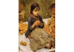 VSO58 John William Waterhouse - Oranžová česačka ovoce