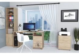 OFFICE II, pracovní sestava nábytku, dub sonoma