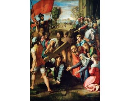 R11-83 Rafael Santi - Kristus padající na cestě na Kalvárii