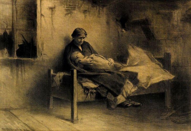Jakub Schikaneder - Chudoba