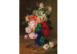DDSO-4400 Charles Philipard - Zátiší s růžemi ve váze
