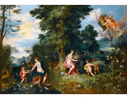 BRG-119 Jan Brueghel a Hendrick van Balen - Alegorie čtyř živlů