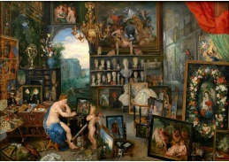 BRG-136 Jan Brueghel a Peter Paul Rubens - Alegorie zraku