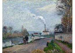 SO XII-71 Camille Pissarro - Oise nedaleko Pontoise