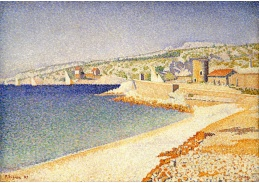 DDSO-4086 Paul Signac - Jetty u Cassis