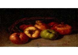 D-8349 Gustave Courbet - Zátiší s jablky