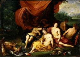 BRG-12 Jan Brueghel a Hendrick van Balen - Diana a její nymfy po lovu