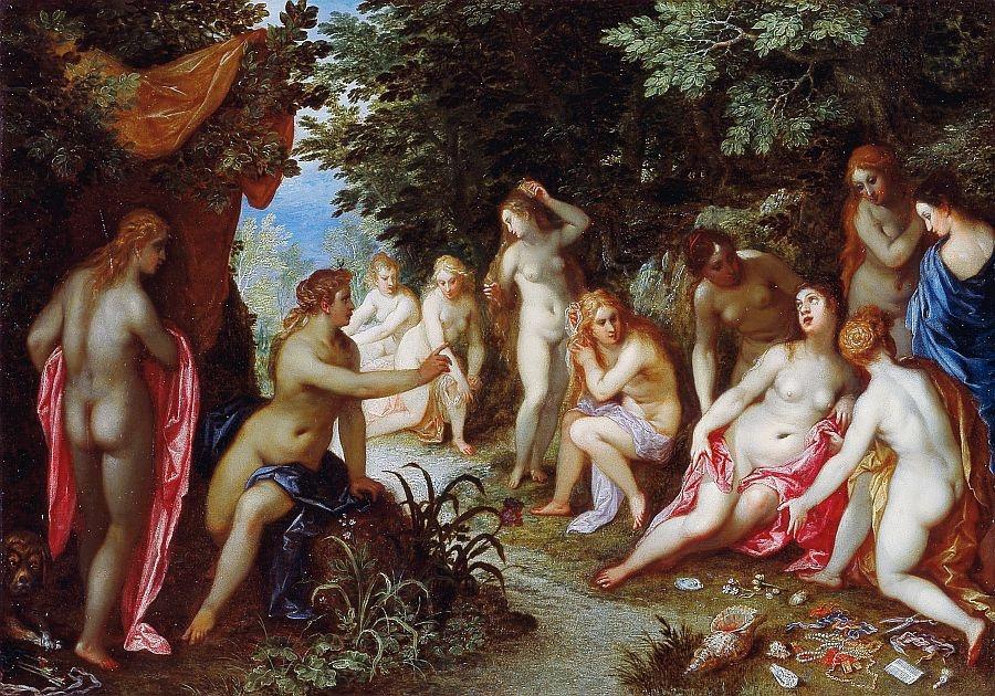 BRG-04 Jan Breughel a Hendrick van Balen - Diana a Callisto
