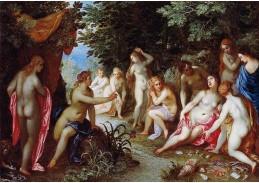 BRG-04 Jan Brueghel a Hendrick van Balen - Diana a Callisto