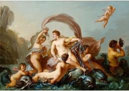 Krásné obrazy IV-103 Jean-Baptiste Marie Pierre - Zrození Venuše