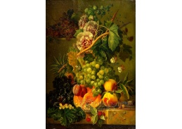 DDSO-4359 Albertus Jonas Brandt - Zátiší s květinami a ovocem